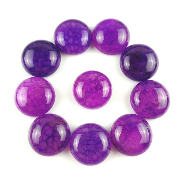 Fashion Accessory, trendy jewelry, purple, cabcabochon