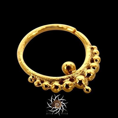 Gold Septum Ring Septum Jewelry Septum Piercing 18g Septum
