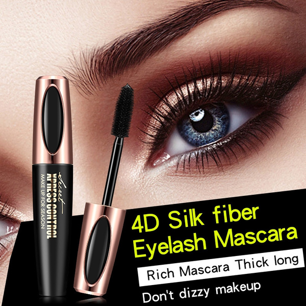 4dsilkfiber, eyelashmascara, comesticmakeup, Women's Fashion & Accessories