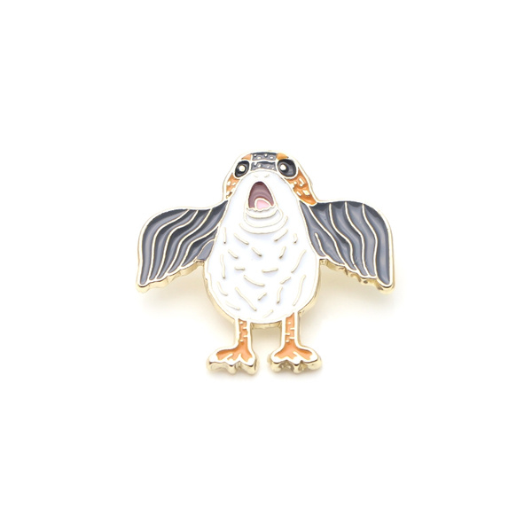 L717 Porgs Enamel Pins and Brooches for Women Men Lapel pin backpack badge  Gifts