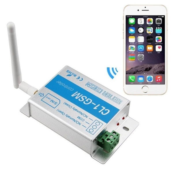 CL1-GSM Smart remote wireless GSM controller switch module GSM Gate Opener  for Gate Garage Door control free by mobile phone