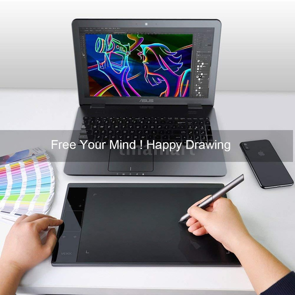 VEIKK A30 10x6 inch Digital Graphics Drawing Tablet Pen Tablet with 8192 Levels