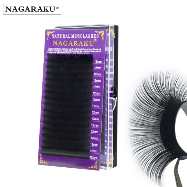 c8b7f50aa0b NAGARAKU high-quality faux mink eyelash extension premium hand ...