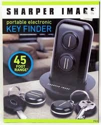 Wish The Sharper Image Portable Electronic Key Finder