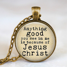 Christian, Jewelry, Quotes, glasscabochon