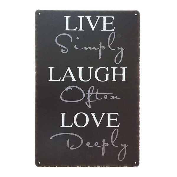 Live Laugh Love Wall Art Unique Live Laugh Love Retro Home Metal Tin Sign Wall Art Decor Personalized Metal Signs Wish,Country Farmhouse Kitchen Lighting Ideas