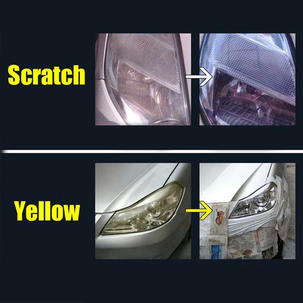 Wish Hgkj 8 Headlight Lens Restoration Car Lens Cleaner Headlamp