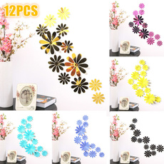 PVC wall stickers, decoration, Flowers, art
