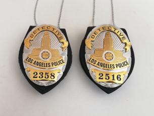 policebadge, epaulette, national, white