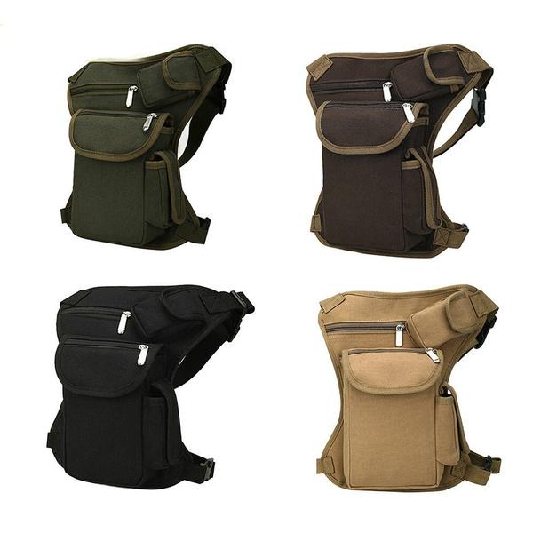 Outdoor Tactical Military Drop Leg Bag Panel Utility Waist Belt Pouch Bag A
