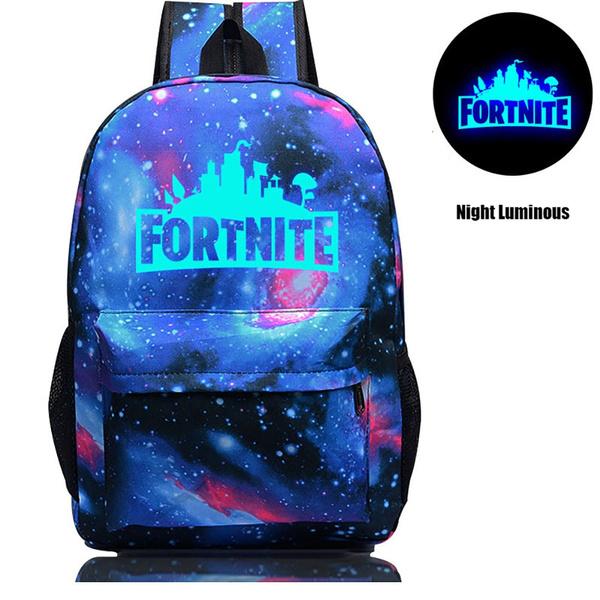 prix abordable grande remise de 2019 meilleur Luminous Fortnite Battle Royale school bag backpack Notebook backpack Daily  backpack