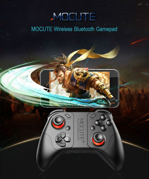 Wish | MOCUTE 053 Wireless Bluetooth Gamepad Joystick Game Controller for VR / For Apple / Android / PC Games joystick Controller Remote
