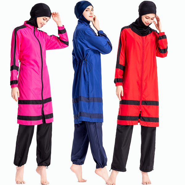 8d2b42e914b Muslim Women Swimwear Islamic Swimsuit For Women Hijab tankini ...