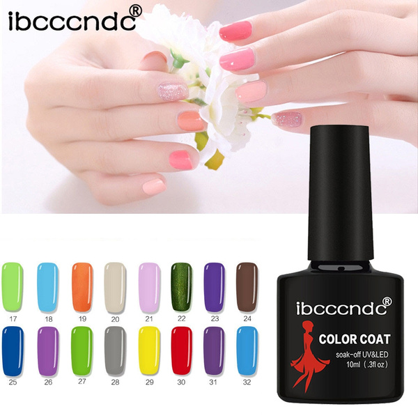 Ibcccndc Women 10ml Gel Nail Polish Nail Art Nail Gel Polish