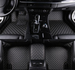 Mats, floor, leather, Carros