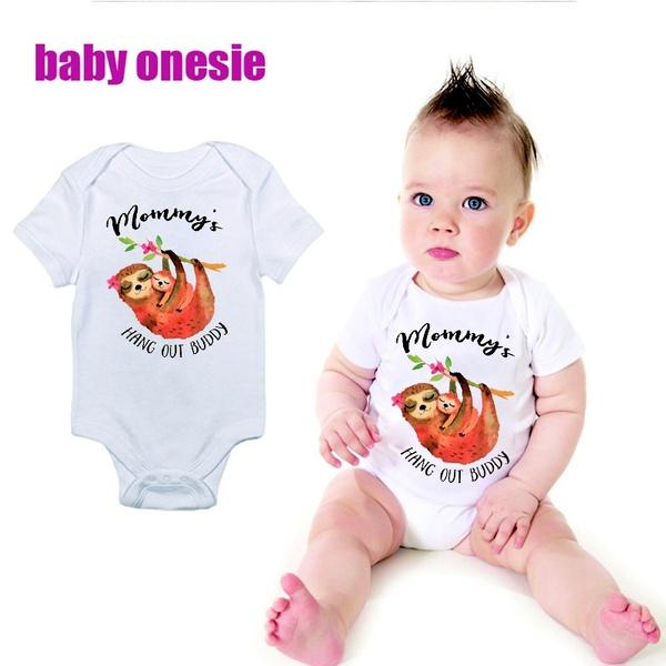 ef7bd09c4 Unique Baby Gift Sloth Onesie Newborn Baby Boy Infant Organic ...