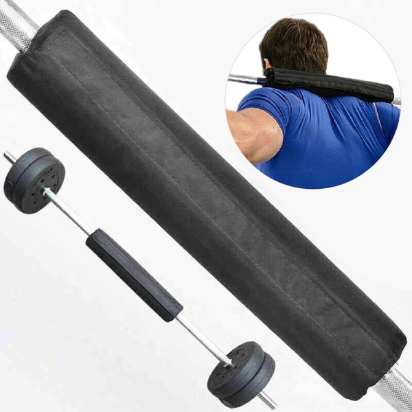 Wish Foam Barbell Bar Rest Pad For Squat Weight Lifting Back Shoulder Olympic