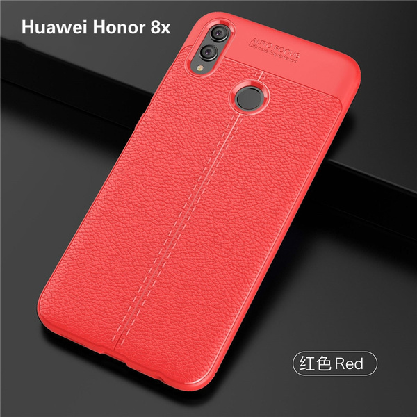 Huawei Honor 8x Case Honor 8x Cover Shockproof Luxury Leather TPU Back Case  For Huawei Honor 6x Phone Fundas 6 4