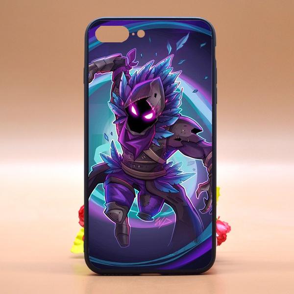 finest selection d70d0 927f0 Fortnite Phone Case,Design Fortnite Raven Skin Fanart TPU Rubber Phone Case  Cover for IPhone/Samsung/Huawei