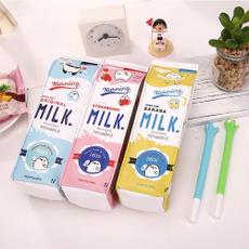 case, pencil, pencilbag, Milk