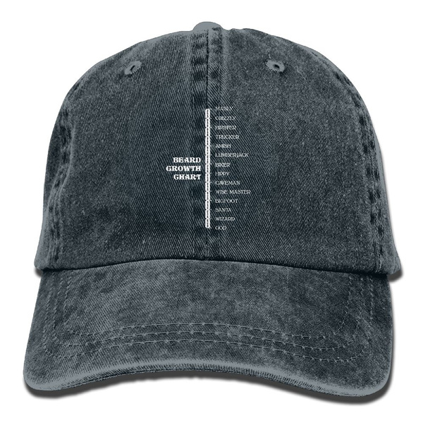 Wish Adult Cotton Washed Cap Golf Outdoor Sun Sports Hat Beard