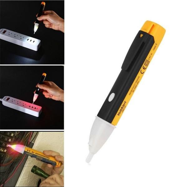 Electricity Detector Test Pencil LED Light AC Voltage Tester Volt Alert