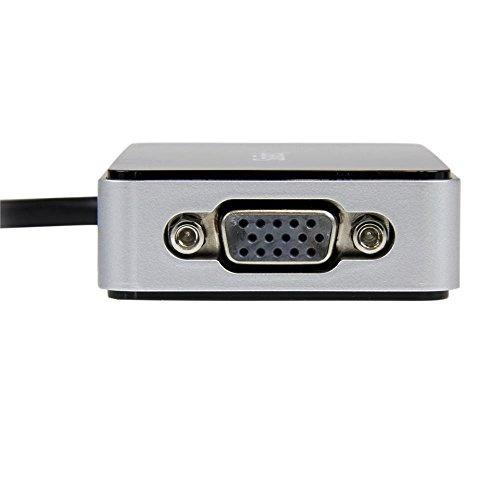 StarTech com USB 3 0 to VGA External Video Card Adapter 1 Port USB Hub  1080p External Graphics Card for Laptops USB Video Card