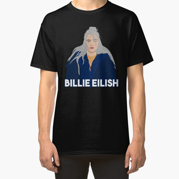 Billie Eilish Men S O Neck T Shirt Short Sleeve Printed Shirt Tops Size S M L Xl 2xl 3xl 4xl 5xl 6xl Wish