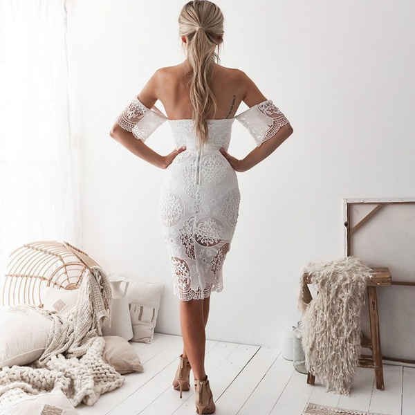 2018 New Style Dress European And American Sexy Lace Dress Dress Sommerkleider Damen Vestidos De Fiesta Summer Dresses For Women Sexy Dresses For Woman Party Dresses For Women Dresses For Women Summer