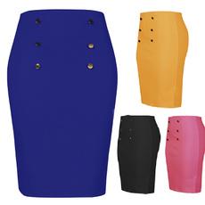 Summer, pencil skirt, Office, pencil