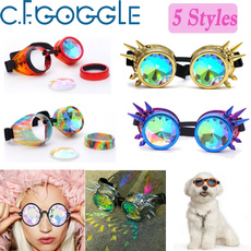 kaleidoscopeglasse, party, Goth, coolgoggle