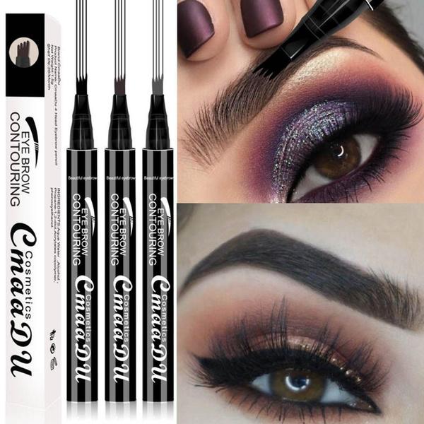 0867551b3f8c New Fashion Makeup Natural Long-lasting Waterproof Eyebrow Pencil Cosmetic  Kit