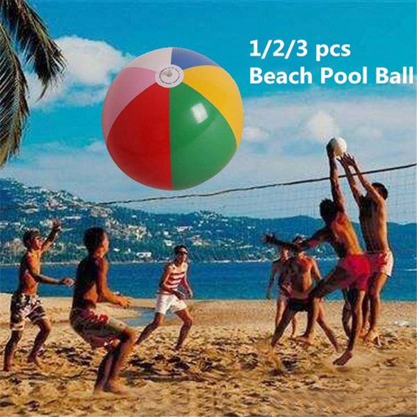 1 Pcs Beach Pool Ball Inflatable Aerated Air Stress Water Educational Toys 47