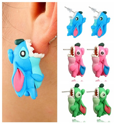 polymer, Fashion, Stud, Stud Earring