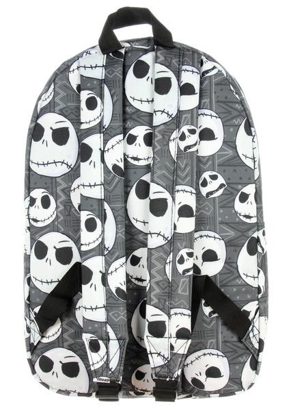 wish nightmare before christmas backpack jack skellington head print - Nightmare Before Christmas Backpack