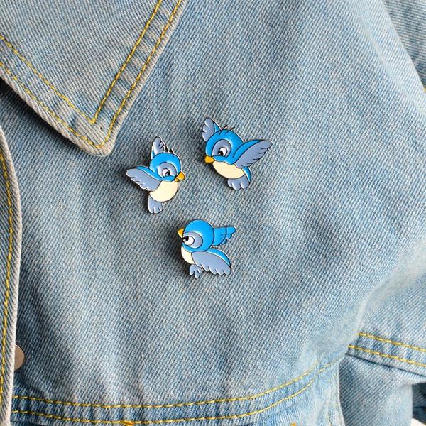 cute, Fashion, Pins, denimjacketpinbuckle