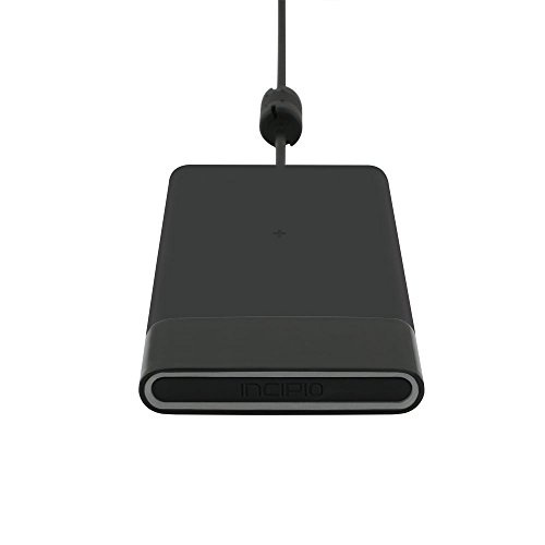 Incipio Ghost Qi 15W 3 Coils Wireless Charging Pad for Qi-Compatible Devices Black