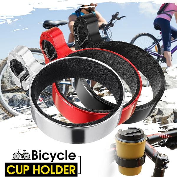 Motorcycle Bicycle Bike Water Cup Holder Coffee Drink Bottle Cup Handlebar Mount