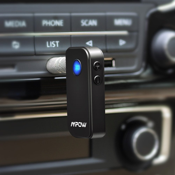 Mpow Wireless Bluetooth Receiver Music Adapter for Home//Car Stereo Audio System