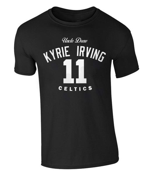 huge selection of 5fd1e 9c43e Fashion Uncle Drew T-shirt 11 Kyrie Irving Basketball Boston Jersey Trikot  Celtics Nba