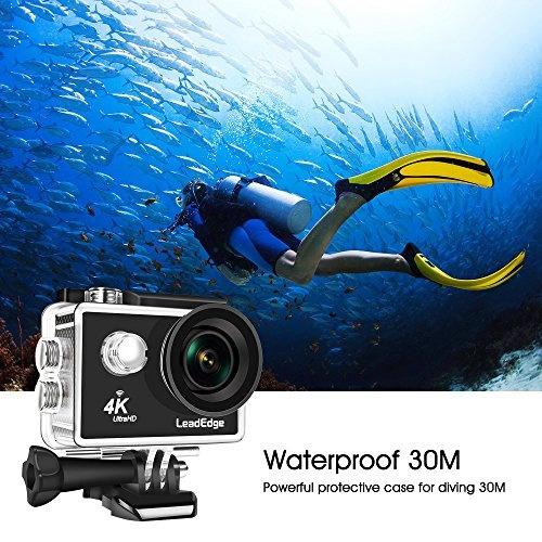 Wish | LeadEdge LE5000 Action Camera Ultra HD 4K/30FPS 1080P