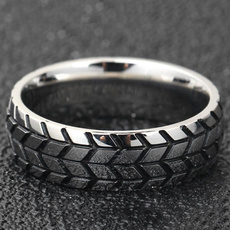 ringgoldband, titanium steel, Jewelry, accessarie