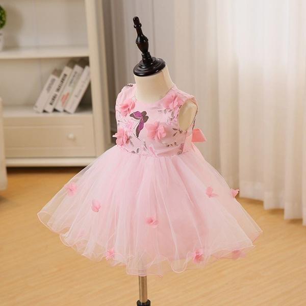 Wish | DMfgd Rosa Nettes Baby Maedchen Kleid Neue Mode Landschaft ...