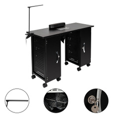 Nail supplies, Iron, Beauty, Manicure Table