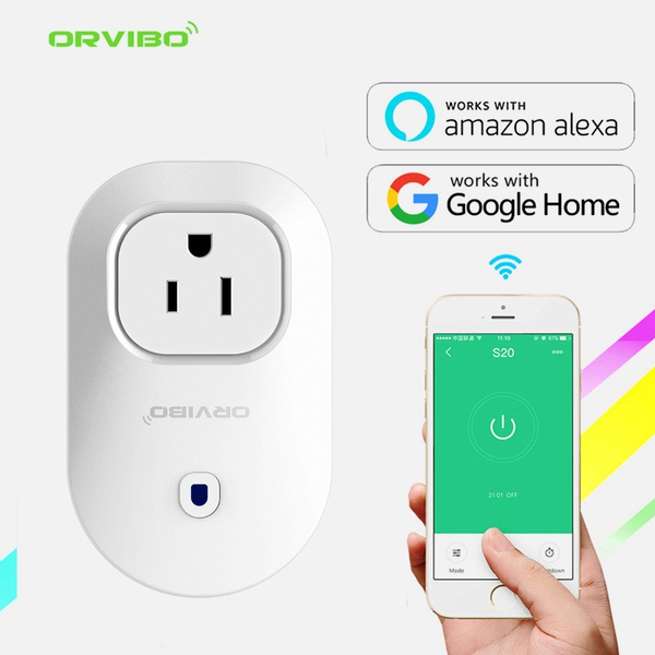 ORvibo Home Automation WIFI Timer Smart Socket Plug S25 US Smart Home  Automation APP Control Switch for iphone Android