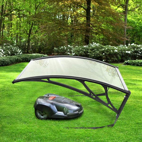 Carport Mähroboter Garage Dach Überdachung für Rasenroboter Rasenmäher Garten
