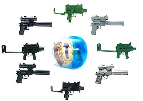 wish bb style mini machine gun hand gun pistol blind box japanese