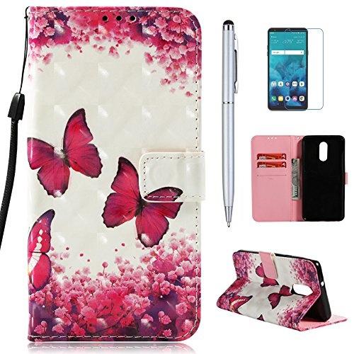 best service 37735 d51f6 mellonlu LG Stylo 4 Case, LG Q Stylus Case, LG Stylo 4 Plus Case, LG Stylus  4 Case, Premium PU Leather Flip Fold Wallet Case [Card Holder] [Kickstand  ...