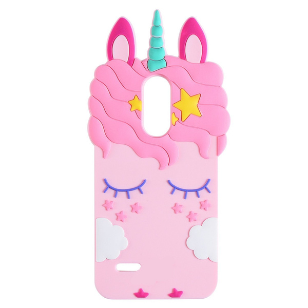quality design 9a072 34563 For LG-Tribute Dynasty Case, forLG Zone 4 Case, for LG-Aristo 2  Case,Cartoon Soft Silicone Cute 3D Fun Cover,Kawaii Unique Kids Girls  Gift,Animal ...