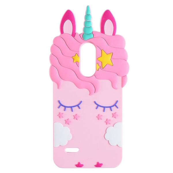 3D Cartoon Super Cute Unicorn Case For